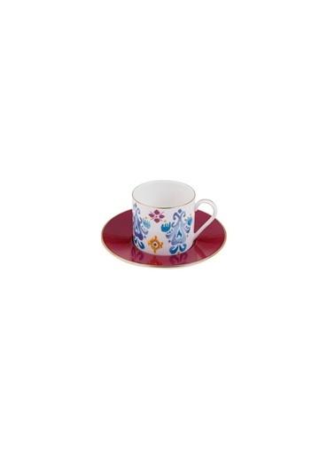 Porland Posh Tabaklı Çay Fincanı 180cc 04ALM003612 Renkli